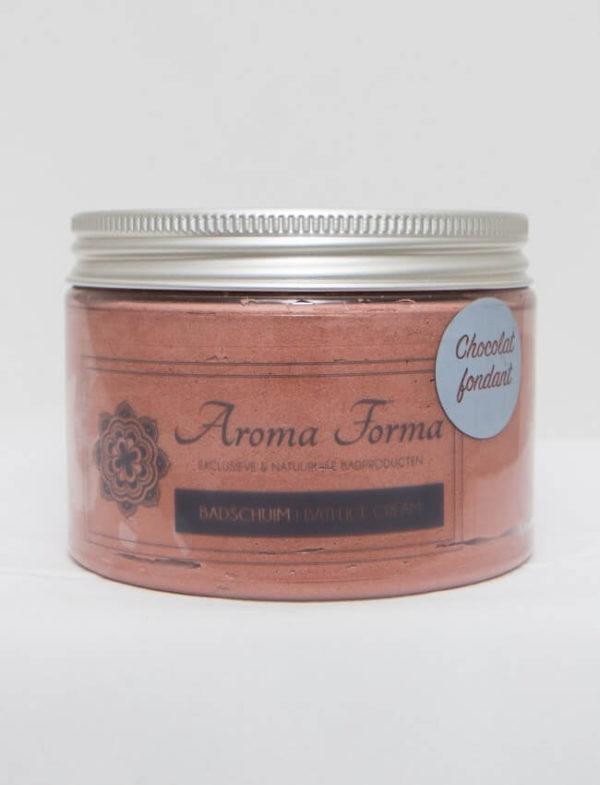 badschuim chocolade aroma forma