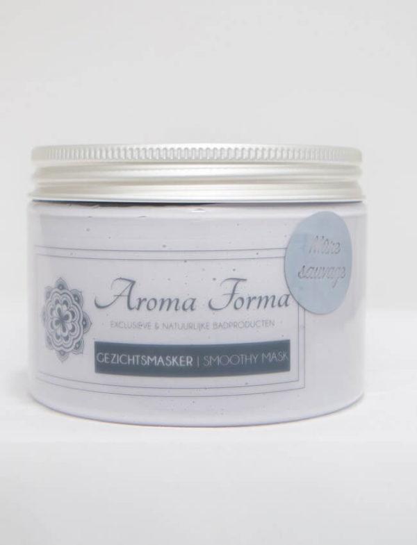gezichtsmasker blauwe bessen aroma forma