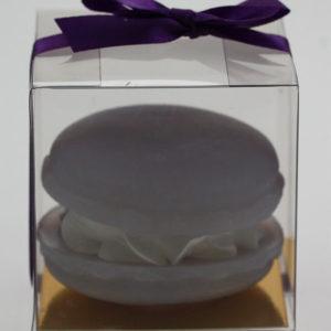 Macaron zeep - Blauwe bessen aroma