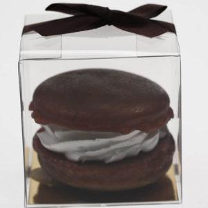 Macaron zeep - Chocolade aroma