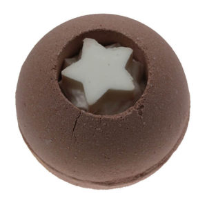 Bruisbal 180gr - Chocolade met ster