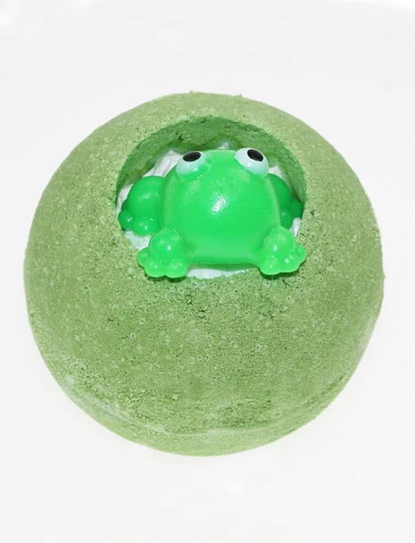 fun soaps bruisbal bath blaster meloen aroma met kikker